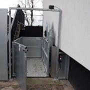 Goederenlift Landstede voorkant open 2