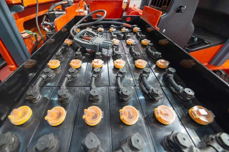 Verkoop tractiebatterijen
