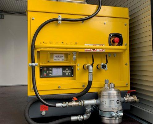 Mobiele dieselcompressoren voor Enexis