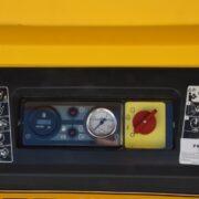 Dashboard Dieselgedreven compressor van Frencken