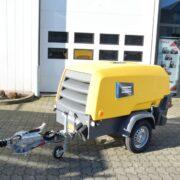 Dieselgedreven compressor