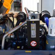 Diesel gedreven Atlas Copco XATS68KD compressor