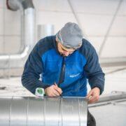 Maatwerk montage industriele afzuiging